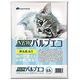 【7個セット】サンメイト 猫砂 NEWパルプエコ 6.5L
