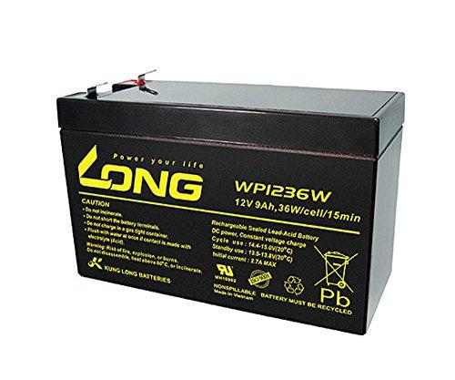 LONG 12V9Ah 高性能 シールドバッテリー WP1236W WP1236W