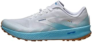 Brooks Men's Launch GTS 8 Running Shoe, Blue/Orange/White