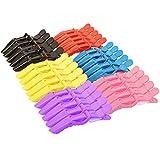 HOSTK 30 PCS coccodrillo coccodrillo Clipper per capelli spessi antiscivolo parrucchiere partizione grip per le donne ragazze styling sezionamento di plastica