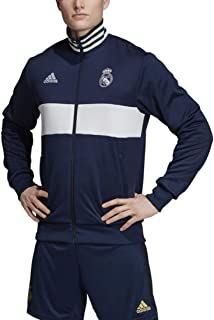 adidas Men's Real Madrid 3S Track Top 2019-20