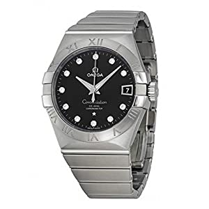 Omega 123.10.38.21.51.001 Constellation Men's Co-Axial 38MM Diamond Watch image