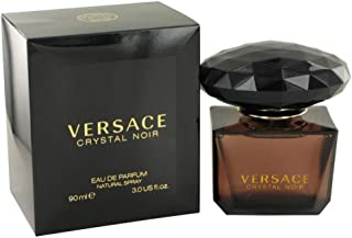 Versace Crystal Noir Eau De Toilette Spray for Women, 3 Ounce