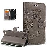 Kompatibel mit Schutzhülle Huawei GR3 Hülle Leder Wallet