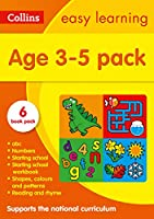 Collins Easy Learning Starter Set Ages 3-5: Ideal for Home Learning (Collins Easy Learning Preschool)