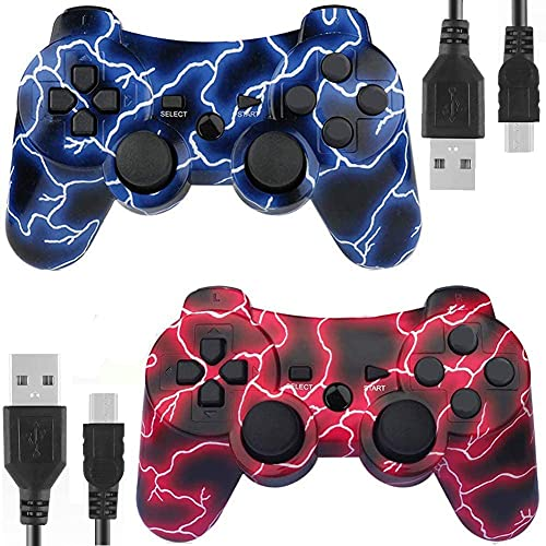Gaming Controller for PS3, AUFGLO Wireless Move/Motion Controller Gamepad...