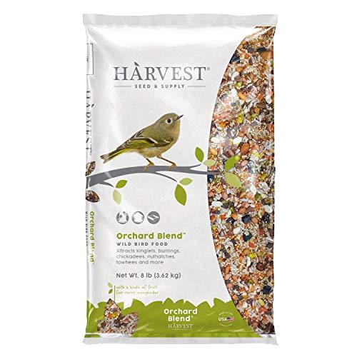Harvest Seed & Supply 13208 Orchard Blend Wild Bird Food, 8-Pound