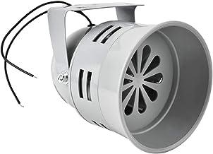 Elektromotoralarm - 120 dB hoorns luid Elektromotoraangedreven hoorn/alarm/sirene, mini-brandpreventiehoorn voor bouwplaat...