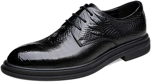 XZHFC Herren Lederschuhe Business Kleid Britische Herrenschuhe Mode Schuhe