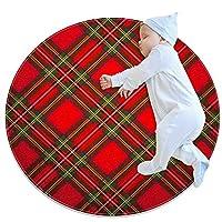 ラウンドラグ サークルカーペット (70x70cm/27.6x27.6IN), 寝室、居間、オフィス、屋外、バルコニー、庭に適しています