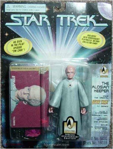 The Talosian Keeper Action Figure From the Original Star Trek TV Series Pilot Episode \