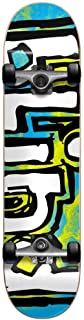 Blind OG Water Color Blue/Yellow 7.0 First Push Complete Skateboard Mini