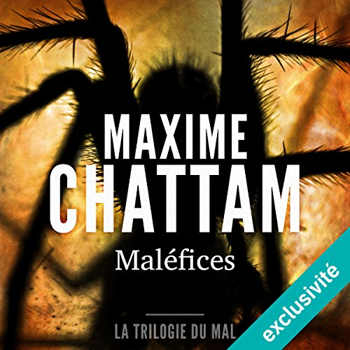 Maléfices audiobook cover art
