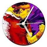 Rafa Nadal ATP Reloj CD Clock 12cm