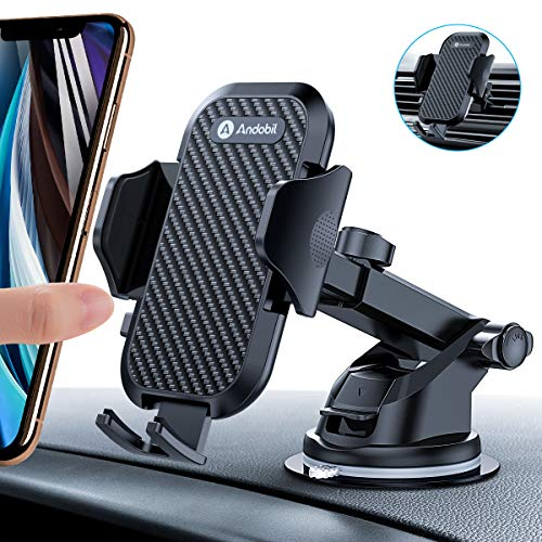 Humixx Fast Wireless Car Phone Holder Charger Air Vent Phone Holder 2 in 1 Auto Lock Gravity Car Mount Qi Wireless Charging Holder for Samsung S9//S9+//S8//S8 iPhone X HX-Wirelesscharger-vertical-BK-UK-FBA