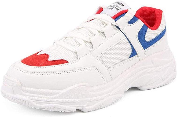 ZIXUAP Chaussures de FonctionneHommest femmes léger Mode soprt paniers Décontracté en marchant Athletic antidérapant