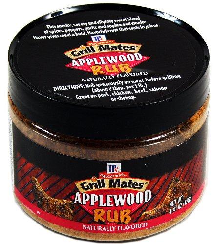 McCormick Grill Mates Applewood Einreibe Gewürz 125g USA