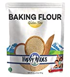 Happy Andes Gluten-Free Baking Flour 4 lbs. - Quinoa-Based Ingredients for Baking - Healthy Alternative for Brownie and Cake Recipes - No Rice, No Xanthan Gum, and Non-GMO (64 Ounces)