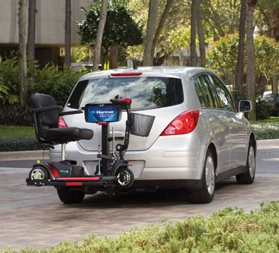 Harmar Mobility AL160 Profile Scooter Lift Outside Fully Automatic Carrier + AL105 Swing Away Joint -  AL 160 AL105 & COVER