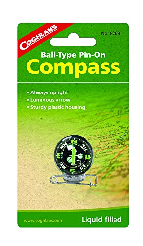 Coghlan's Ball-Type Pin-On Compass