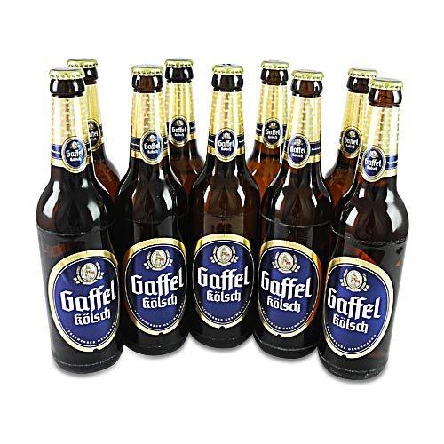 Gaffel Kölsch (9 Flaschen à 0,5 l / 4,8% vol.)