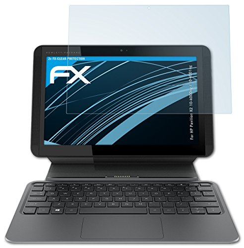 atFolix Schutzfolie kompatibel mit HP Pavilion X2 10-k000ng / 10-k001ng Folie, ultraklare FX Bildschirmschutzfolie (2X)
