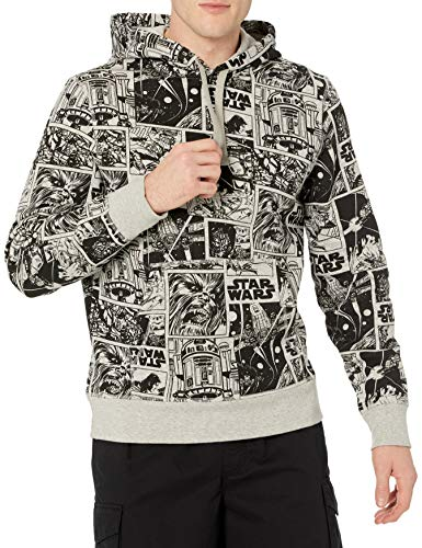 Amazon Essentials Disney Marvel Fleece Pullover Sweatshirt Hoodies Sudadera, Star Wars Comic, L