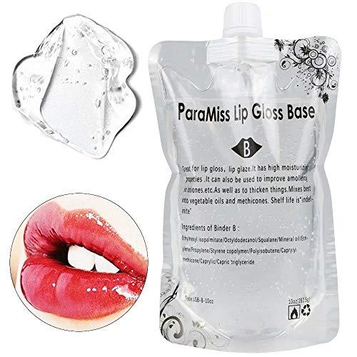 Lipgloss Base Gel 10 Unzen Lip Glaze Base zur Herstellung Ihres eigenen Lippenbalsams, Diy Lip...