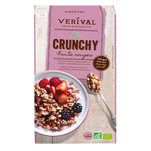 Céréales BIO Verival Crunchy Fruits Rouges - 375g