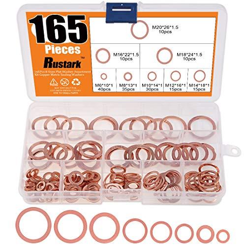 Copper washers m4 m5 m6 m8 m10 m12 flat joint banjo high quality plug crush