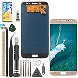 YWL-OU para Samsung Galaxy J7 Pro LCD Display y para 2017 J730 J730F J730G Pantalla táctil Digitalizador con un Conjunto de Herramientas (Negro)