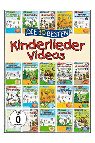 Die 30 Besten Kinderlieder Videos (DVD)