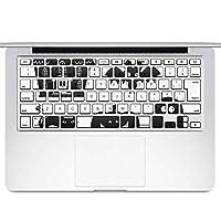 igsticker MacBook Air 13inch 2010 ~ 2017 専用 キーボード用スキンシール キートップ ステッカー A1466 A1369 Apple マックブック エア ノートパソコン アクセサリー 保護 013515 ハロウィン おばけ かぼちゃ