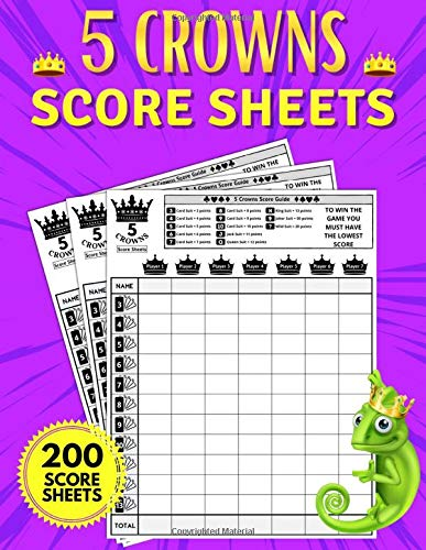 Compare Textbook Prices for 5 Crowns Score Sheets: The Big Book to Keep Score. 200 Large Score Sheet Pages for Scorekeeping. Five Crowns Game Record Keeper Book Size 8.5 x 11 inches  ISBN 9798590373888 by Sheets, Scores  and