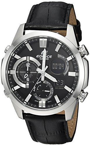 Reloj Casio Edifice para Hombres 45mm, pulsera de Cuero Sintético