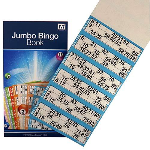 Anker International Stationary Livre de Billets de Bingo « 1-548 »