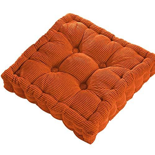 cailong Engrosada cojín Suave for el Invierno y otoño Oficina del Respaldo del sofá Tatami Cojín Amortiguador General Silla de Comedor Acolchado an (Color : Orange)