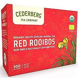 top 10 organic rooibos tea Rooibos Tea 100 Tea Bag USDA Organic Tea – Caffeine Free – Cederberg Tea Company
