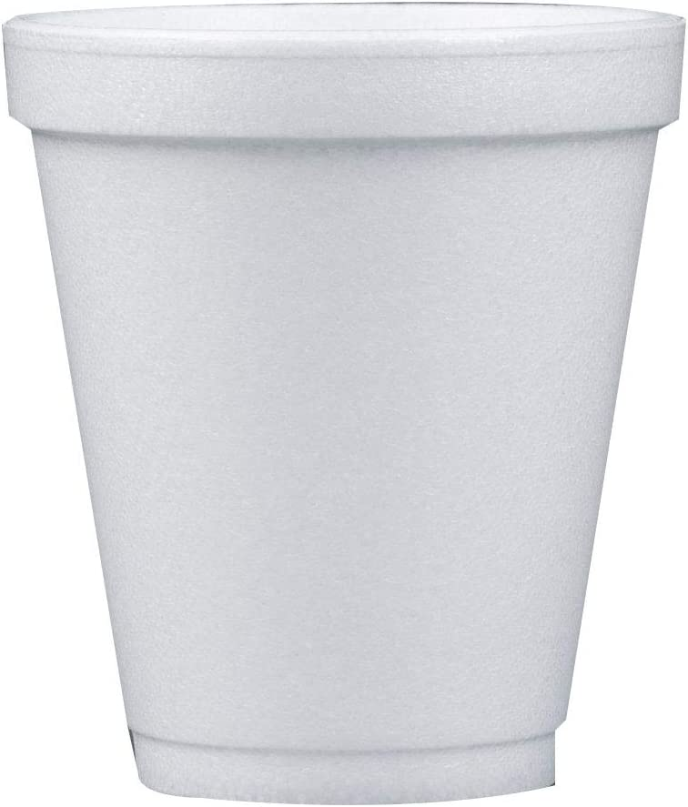 Dart 8 Oz White Max 84% OFF Disposable Coffee Foam Cold and Hot Cups Drink Beauty products C