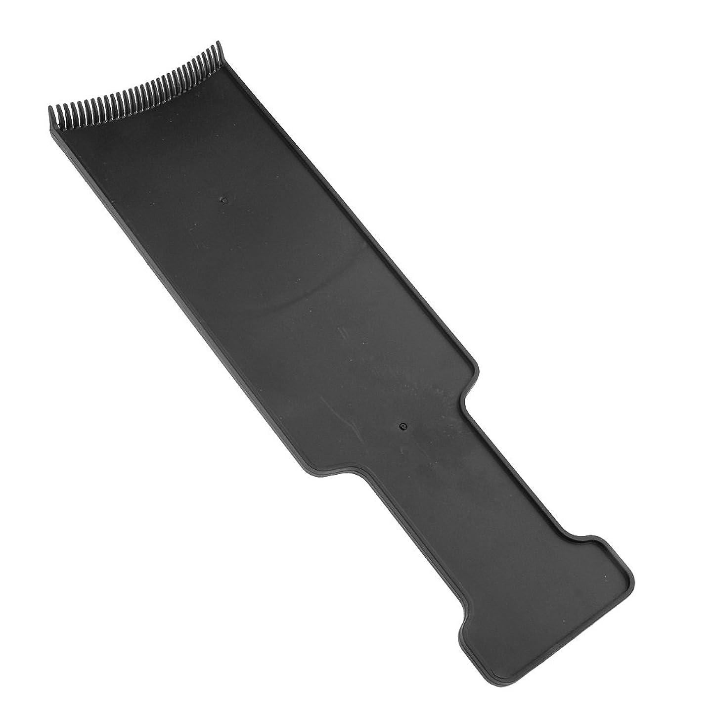 いつかバング包括的Baosity サロン ヘアカラー ボード ヘア 染色 ツール ブラック 全4サイズ - M