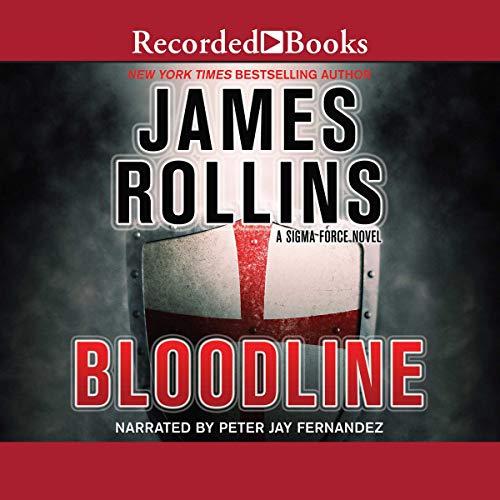 Bloodline audiobook cover art