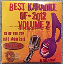 Best Of Karaoke 2012 Volume 2 CD+Graphics CDG 18 Pop & Country Tracks Kelly Clarkson, Maroon 5, Justin Timberlake, Bruno Mars, The Band Perry, Little Big Town, Hunter Hayes, Zac Brown Band, and MORE!