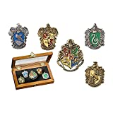 The Noble CollectionHogwarts House Pin - Fünf...