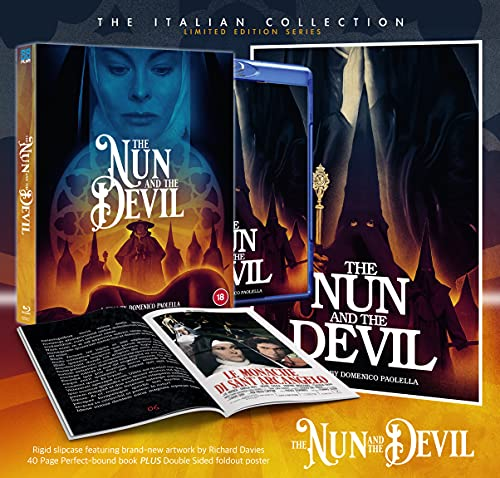 The Nun and the Devil - DELUXE COLLECTOR'S EDITION [Blu-ray] [2021]