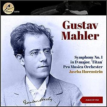 Gustav Mahler: Songs of a Wayfarer (Lieder Eines Fahrenden Gesellen) - Johann Sebastian Bach: Sacred Arias (Album of 1953)