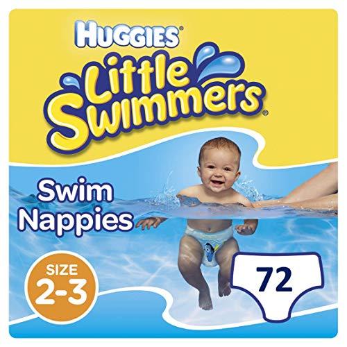 Huggies Little Swimmers desechables pañales de nadar, tamaño 2–3, 36pantalones
