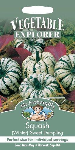 Mr Fothergills Pilzsporen, Gemüse Winterk rbis Sweet Dumpling 20 Samen