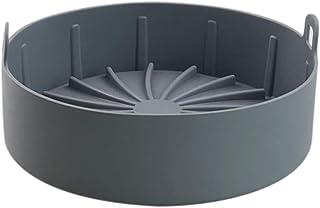 Fhdpeebu Friteuse à air en silicone de rechange pour doublure en papier, pas de nettoyage dur de l'air, panier de friteuse...
