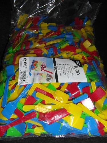 1000 Eislöffel, PS 8,5 cm farbig sortiert