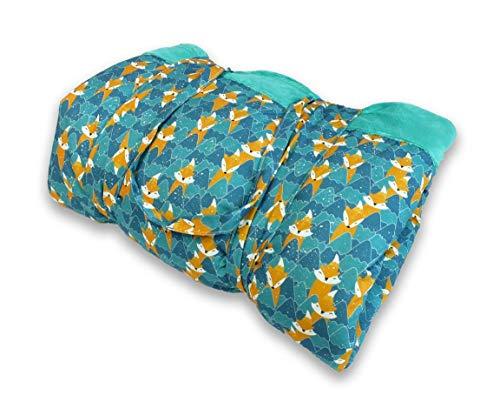 BlueKitty Picknickdecke XXL 180x200cm, Wasserdicht mit Tragegriff für Picknicks, Strandmatte, Stranddecke, Outdoor, Camping, Wasserabweisend (Türkis)
